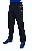 Мужские спортивные штаны GANT синие плащёвка
