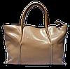 Эксклюзивная женская сумка из натуральной кожи цвета пудры EIR-027677