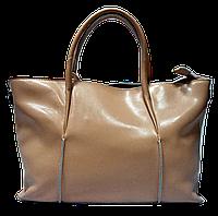 Эксклюзивная женская сумка из натуральной кожи цвета пудры EIR-027677, фото 1