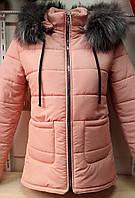 Женская теплая куртка на зиму 1809/13