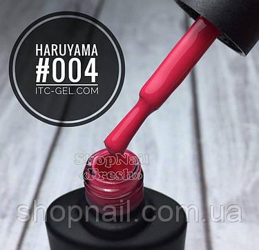 Гель-лак Haruyama №004 (темно-розовый), 8 мл, фото 2