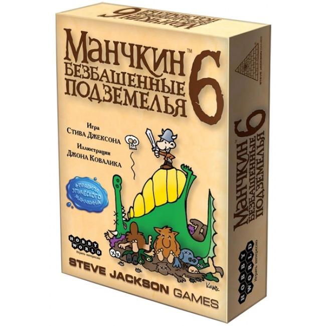 Настільна гра Манчкін 6. Безбашенні Підземелля (Munchkin 6: Божевільний Dungeons)