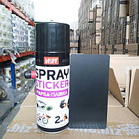 Жидкая резина для авто  BeLife Spray-sticker R4 черная матовая