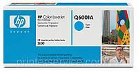 HP Q6001A (124A cyan) для CLJ 1600/2600/ 2605/CM1015/CM1017