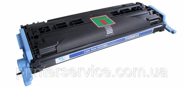 Картридж HP Q6001A (124A cyan) для HP C LJ 1600, C LJ 2600, C LJ 2605, CM1015mfp, CM1017mfp