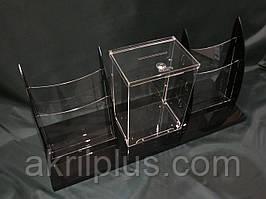 Піддон з ящиком і буклетницами А4 формату