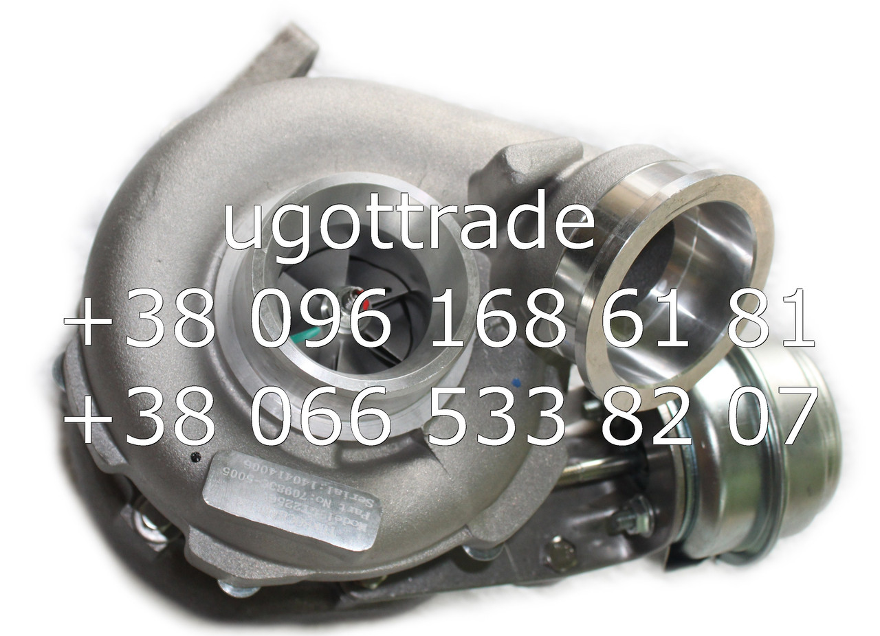 Турбокомпрессор GT2256V / GT22V Mercedes Sprinter 2.7 L