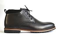 Большой размер кожаные зимние мужские ботинки черные Rosso Avangard BS Nextgen Black, фото 1