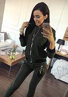Женский бомбер -куртка, фото 1