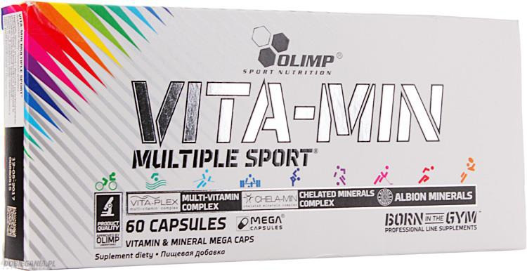 Витамины и минералы Olimp Labs Vita-Min Multiple Sport (60 капсул.)