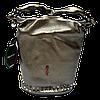 Превосходная женская сумочка из натуральной кожи золотистого цвета GMU-013990