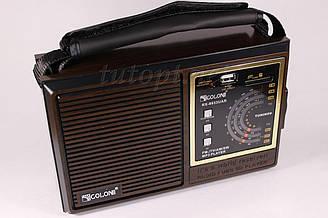 Радиоприемник Golon RX-9933UAR аккумуляторный, USB/SD проигрыватель