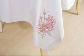 Праздничный набор из скатерти и 6 салфеток Букет роз ИДЕЯ, фото 3