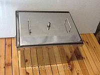 Коптильня из нержавеющей стали 1,5мм с водяным затвором 400х310х280