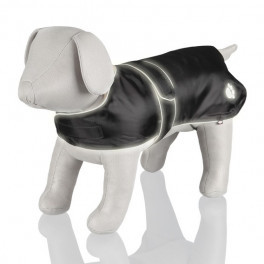 "Попона Trixie ""Tcoat Orleans"" светоотражающая, черная, XL: 70-100 см"
