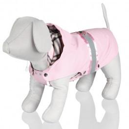 "Пальто Trixie ""Como"" Трикси ""Комо"", с пайетками, розовое, M - 45 см"