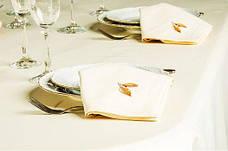 Трио роз скатерть + 6 салфеток с вышивкой ИДЕЯ, фото 3