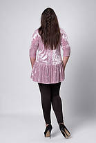Женская блуза бархат-велюр, фото 3