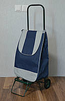 ПОСИЛЕНА господарська сумка - візок на колесах металичесских, фото 1