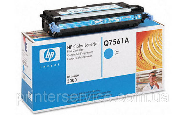 Картридж HP Q7561A (314A) cyan для цветных принтеров HP Color LaserJet 2700/3000 series