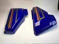 Пластик боковой Альфа (синий) TVR