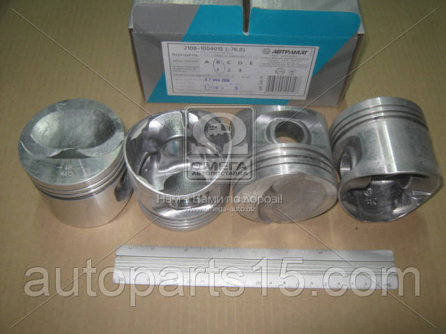 Поршень цилиндра ВАЗ 2108, 21081,1111 d=76,0 группа B Мотор/Комплект (пр-во Автрамат). Цена с НДС