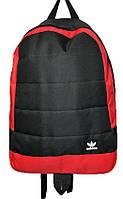Рюкзак спортивный Adidas c вставками из искусственной кожи