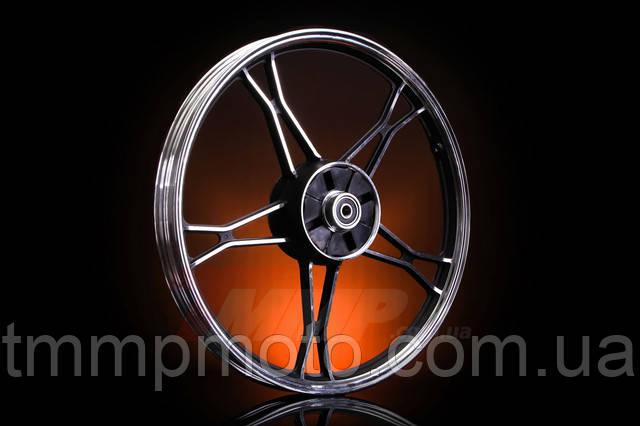 Диск колеса (литой) задний Delta (чёрный) Артикул: D-76  Описание:  Диск колеса (литой) задний Delta (чёрный)