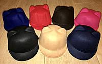 Женские  кепки с ушками