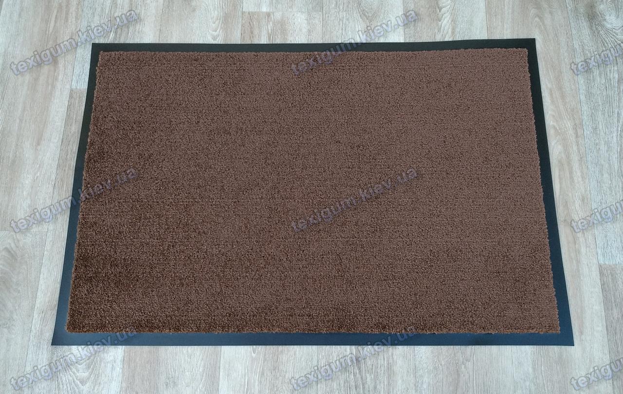 Коврик грязезащитный Элит 60х90см, коричневый