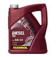Моторное масло Mannol Diesel TDI SAE 5W30 C3 5 л