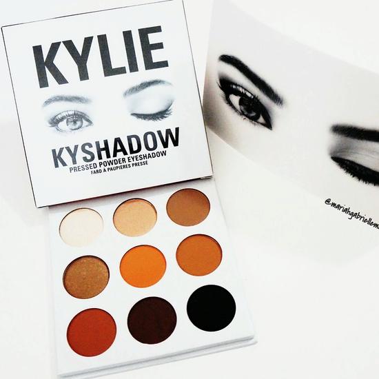 Палетка теней Kylie Jenner Kyshadow the Bronze Palette 9 оттенков