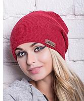 """Женская вязанная шапка """"Рокси"""""""