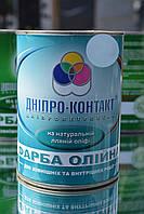 Краска масляная Днепр-Контакт Серая 1 кг