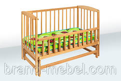Деревянная кроватка-колыбель 1В217-2