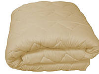 Одеяло односпальное микрофибра на овечьей шерсти 130*215