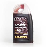 Моторное масло Mannol 7805 Scooter 2-Takt Premium API TC+ (1L)