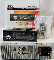Автомагнитола USB MP3 HS-MP3100 евро-разъем