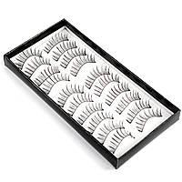 Накладные ресницы 10 пар Beauties Factory Fine-eyeline Eyelashes – BF-12