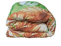 Одеяло односпальное бязь на овечьей шерсти 130*215