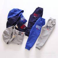 Спортивный костюм NYC цвет синий 130 см