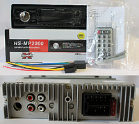 Автомагнитола USB MP3 HS-MP2000 евро-разъем Car audio