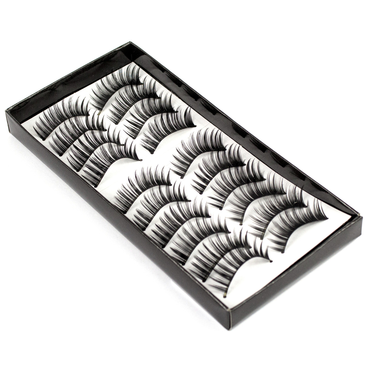 Накладные ресницы 10 пар Beauties Factory Good-to-go Eyelashes – BF-16
