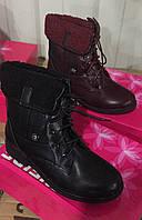Детские демисезонные ботинки для девочек Размеры 30-36
