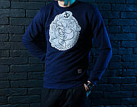 """Модный свитшот мужской победов Pobedov sweatshirts """"Сasual Animals"""" Bullterrier"""