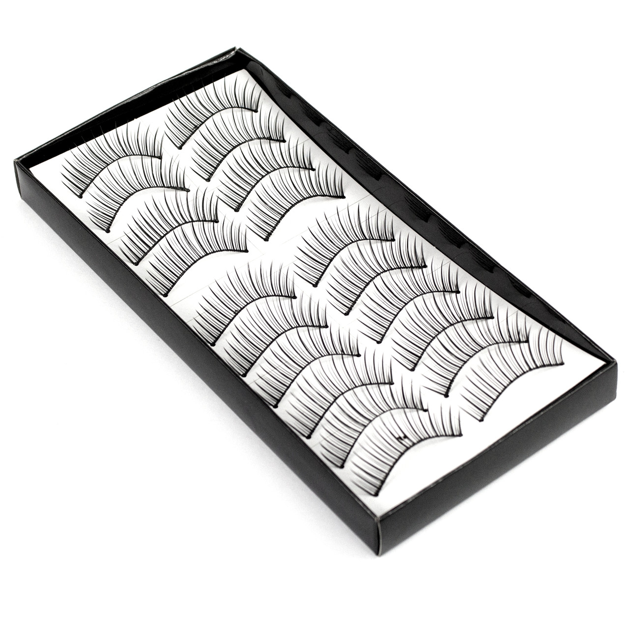 Накладные ресницы 10 пар Beauties Factory Good-to-go Eyelashes – BF-7