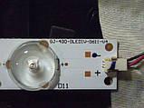 Светодиодные LED-линейки GJ-400-DLEDIV-D611-V4 (матрица TPT400LA-HM06)., фото 4
