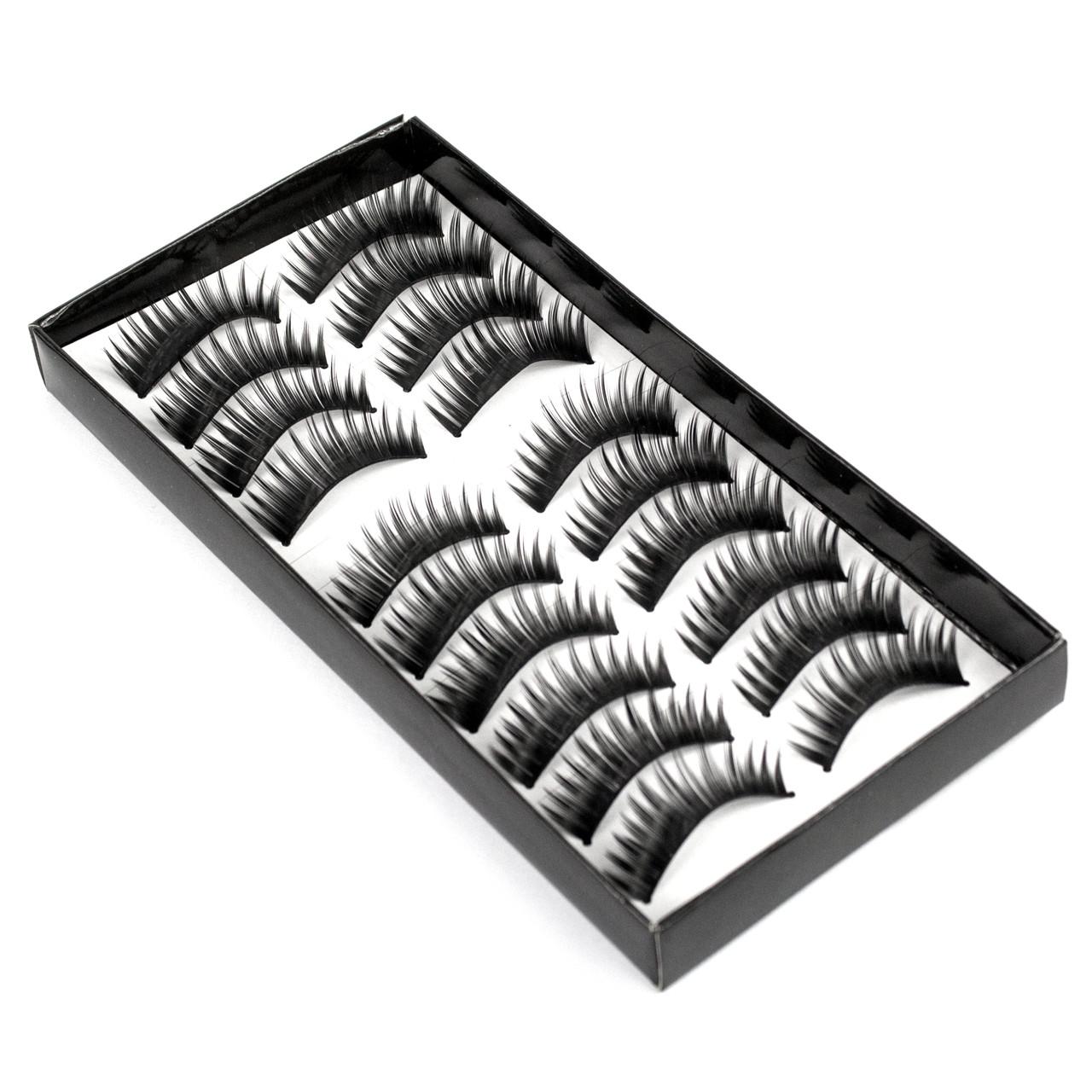 Накладные ресницы 10 пар Beauties Factory Good-to-go Eyelashes – BF-9