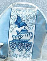 """Набор для вышивания крестом №374 """"Гжель"""""""