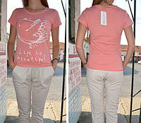 Пижама, комплект для дома. 100% х/б. Lemila 602-2. Размер XL